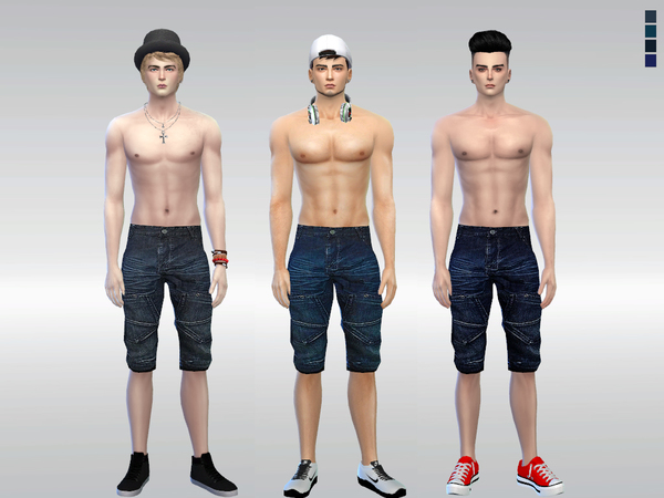 Emilio Denim Short by McLayneSims