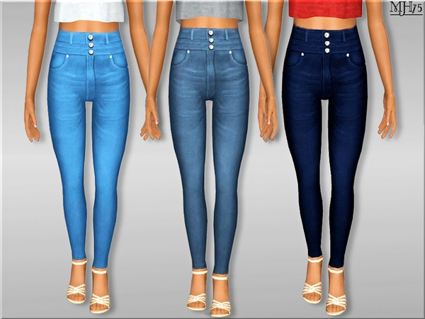 S3 High Waist Skinny Jeans [Teen] by Margeh-75