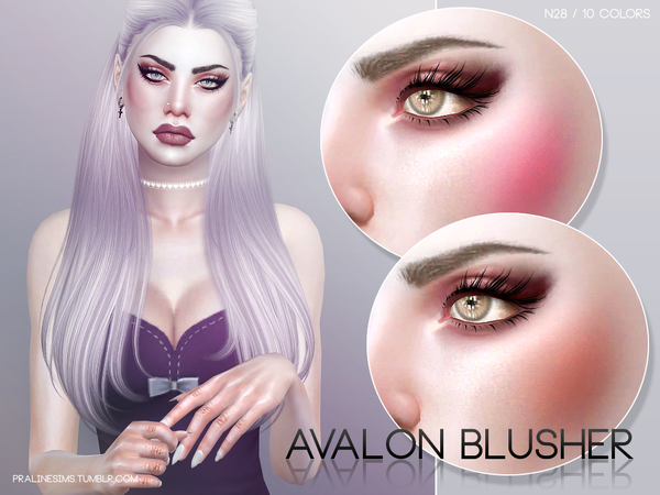 Avalon Blusher N28 by Pralinesims