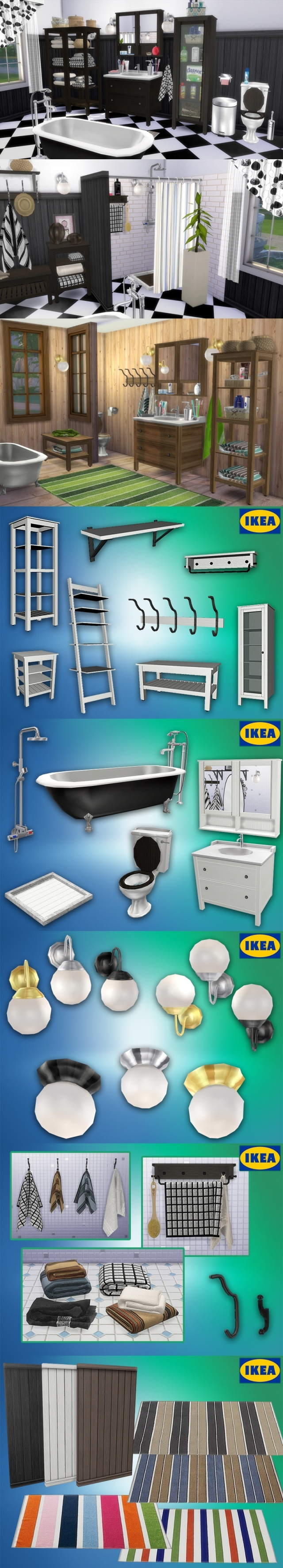 "Ikea Bathroom ""Hemnes"" by Natatanec"