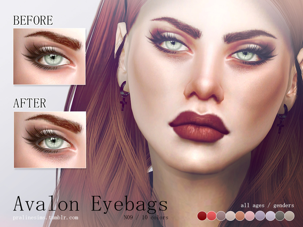 Avalon Eyebags N09 by Pralinesims