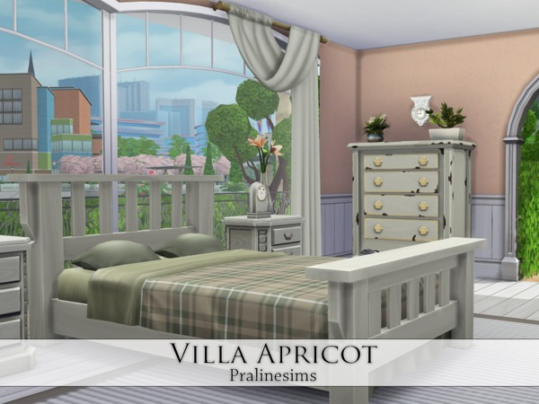 Villa Apricot by Pralinesims