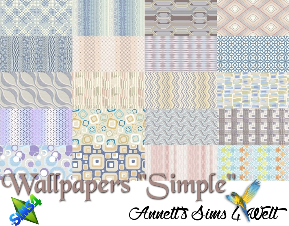 "Wallpapers ""Simple"" by Annett85"