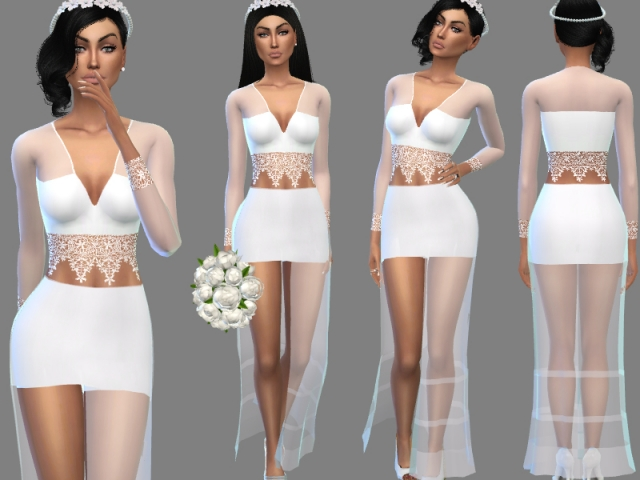 WEDDING OUTFIT/DRESS by Puresim