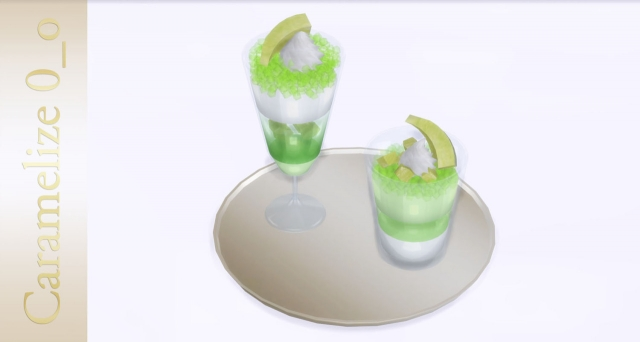 Melon Mousse and Jelly by Caramelize