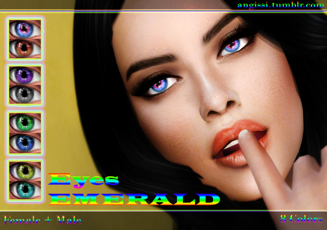 Eyes Emerald by ANGISSI
