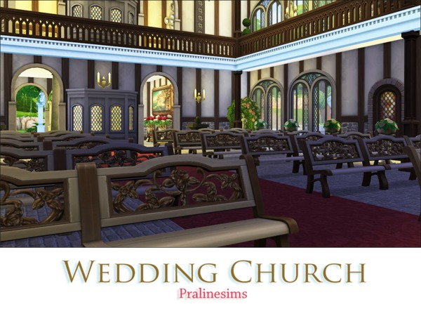 Wedding Church by Pralinesims