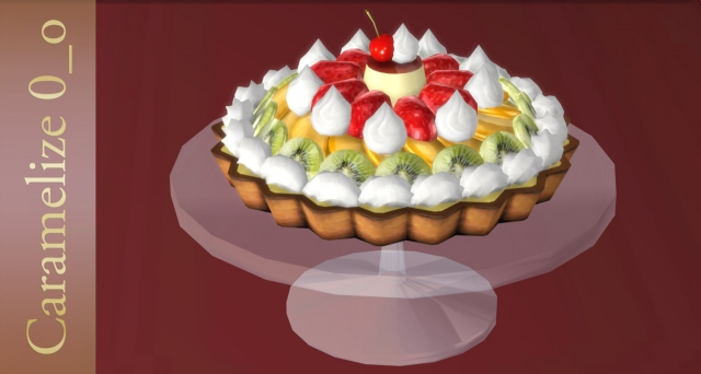 Fruit Tart by Caramelize