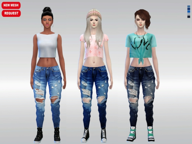 Urban Glam Denim Jeans by McLayneSims