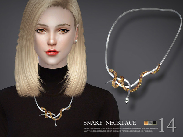 S-Club LL ts4 necklace N14 by S-Club