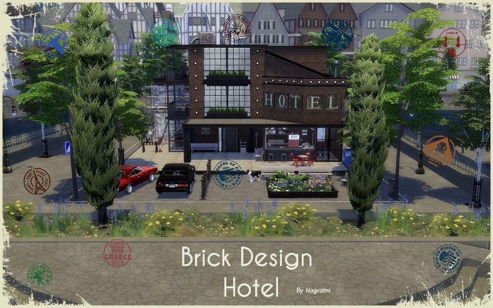 Brick Design Hotel by Nagvalmi