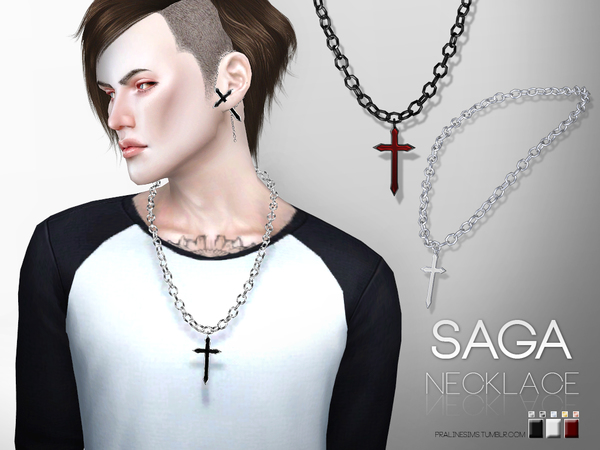 Saga Necklace by Pralinesims