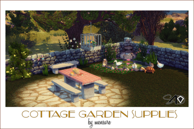 Mensure's 3T4 Conversion of Cottage Garden Supplies by Daer0n