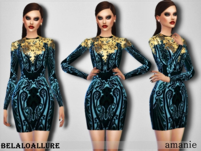 Amanie dress by belal1997