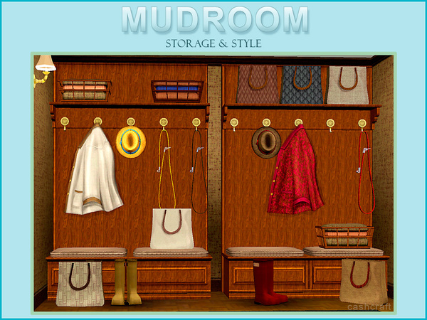 Mudroom by cashcraft