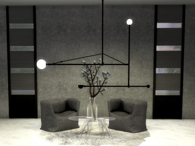 Michael Anastassiades Mobile Chandeliers. (new mesh) by Daer0n
