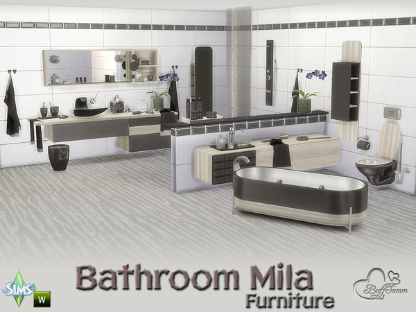 Bathroom Mila by BuffSumm