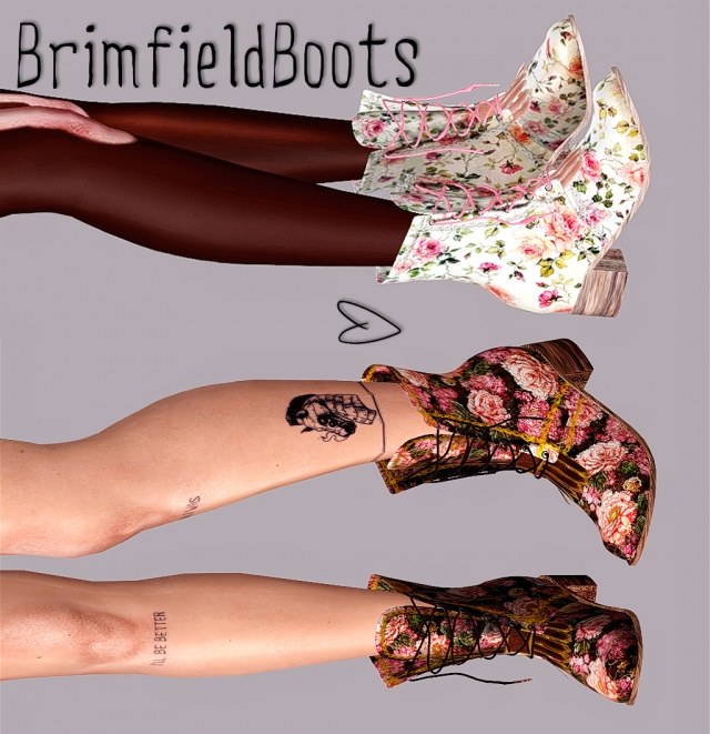 Brimfield boots by Tractusopticus