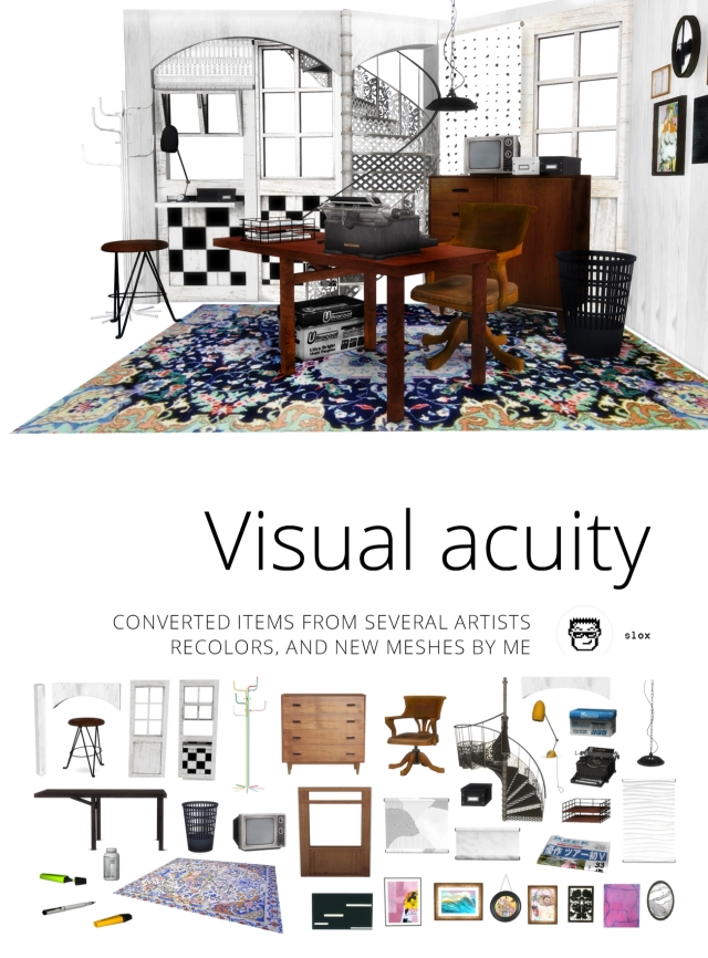 Visual acuity by Slox