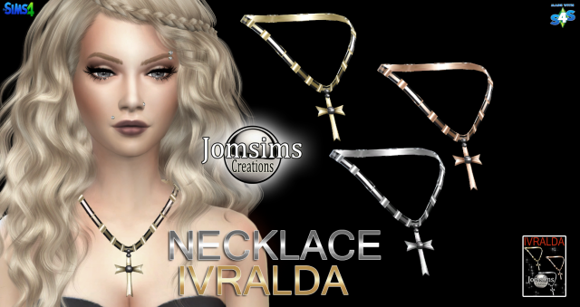 Voici ivralda collier by jomsims
