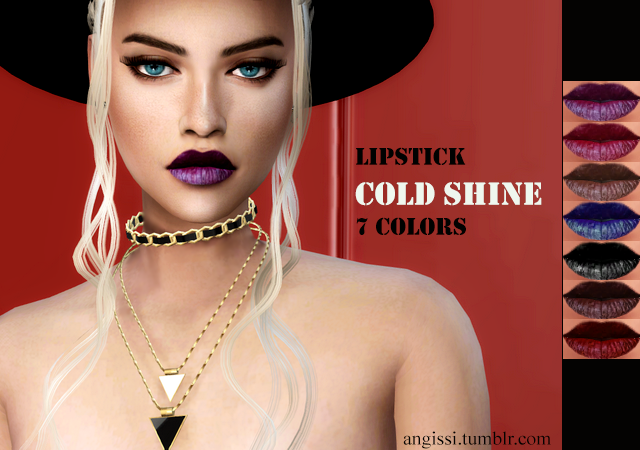 lipstick Gold Shine by ANGISSI