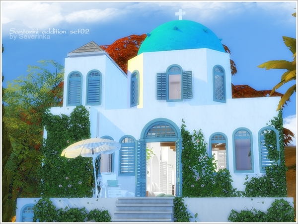 Santorini addition set 02 by Severinka