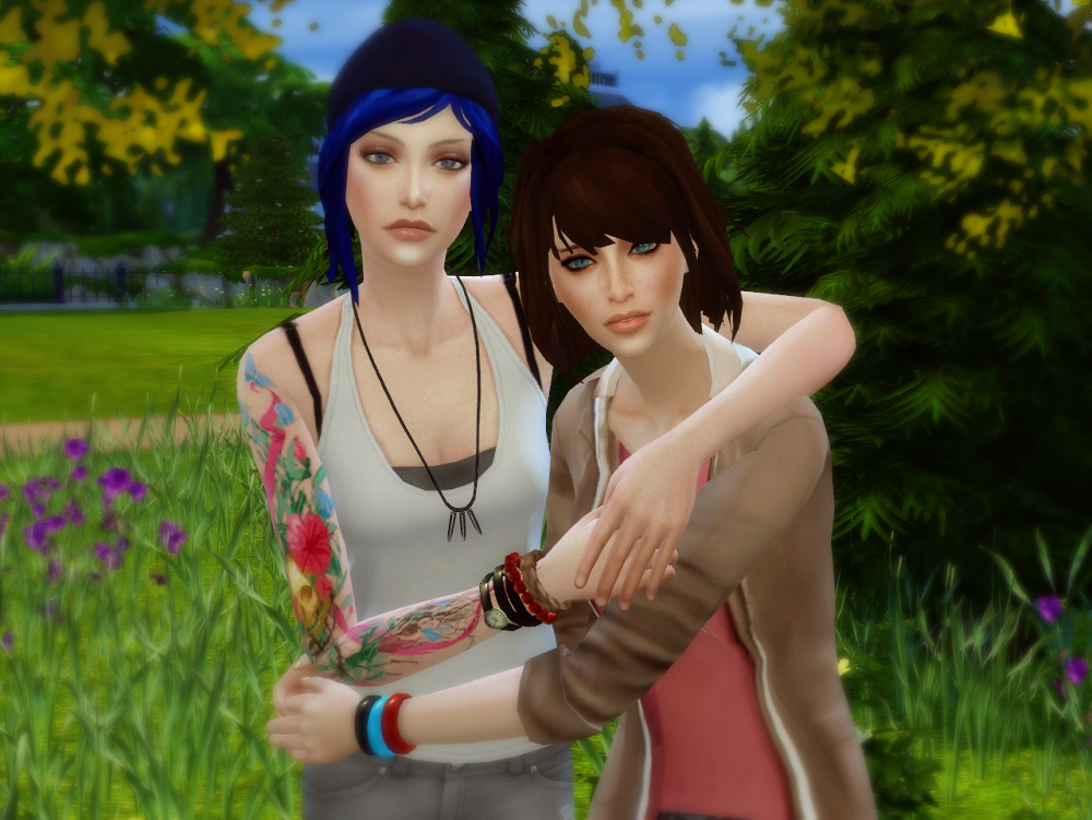 Max and Chloe (Life is Strange) by Mellios