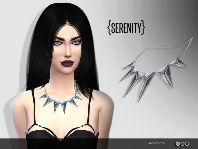 Hightech Necklace by serenity
