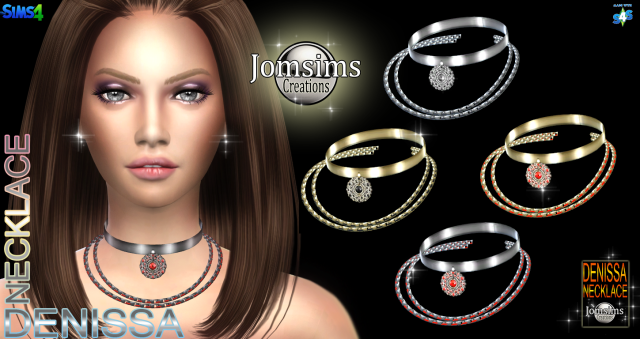 Voici collier Denissa by jomsims