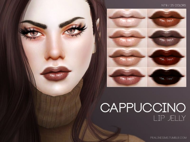 Cappuccino Lip Jelly N79 by Pralinesims