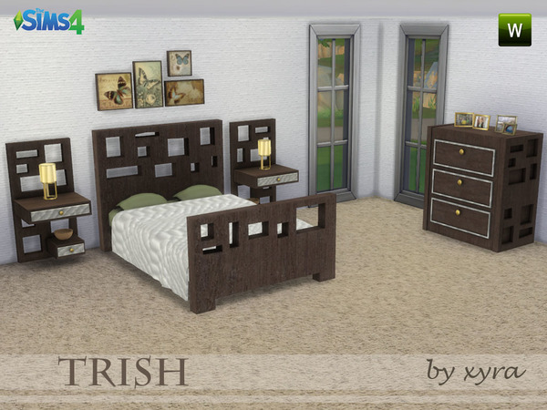 xyra Trish set bedroom by xyra33