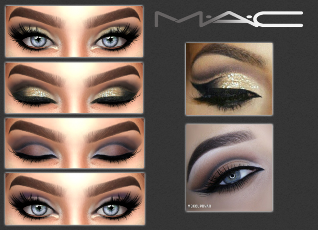 Two makeupbyan looks by maccosimetics