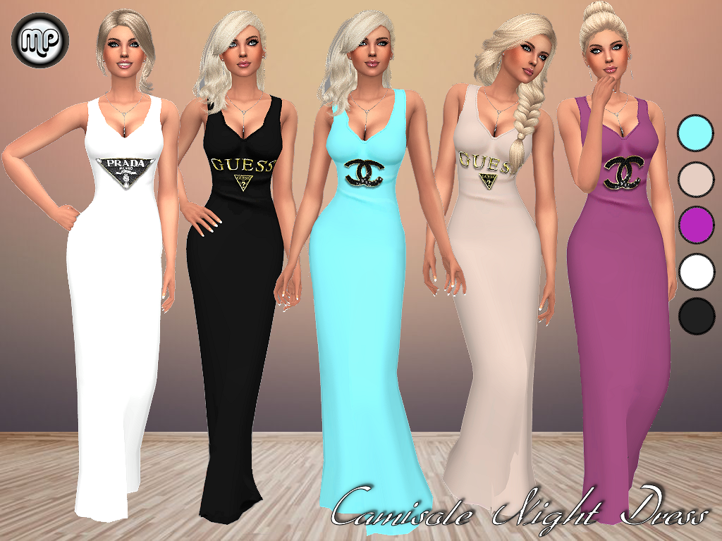 MP Camisole Night Dress by MartyP