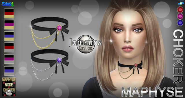 MAPHYSE choker by JomSims