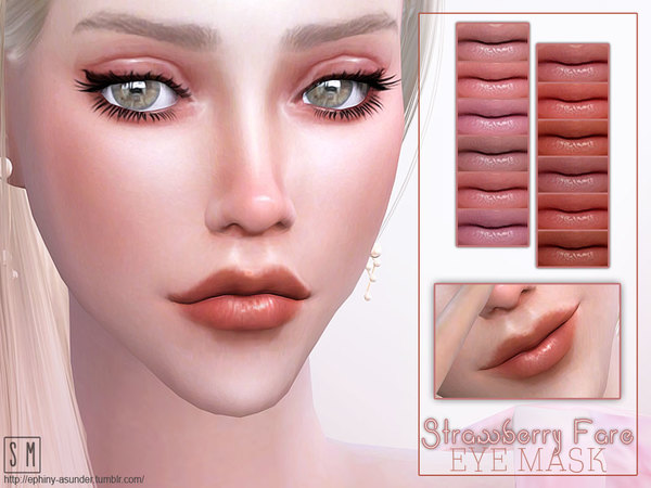 [ Strawberry Fare ] - Lip Gloss by Screaming Mustard