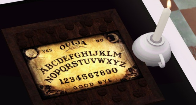Ouija board by Descargassims