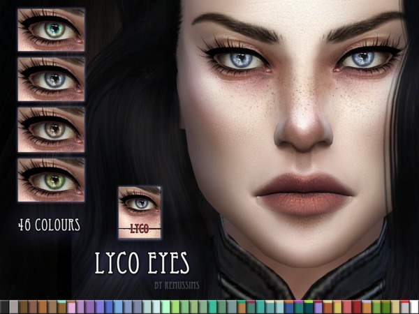 Lyco Eyes by RemusSirion