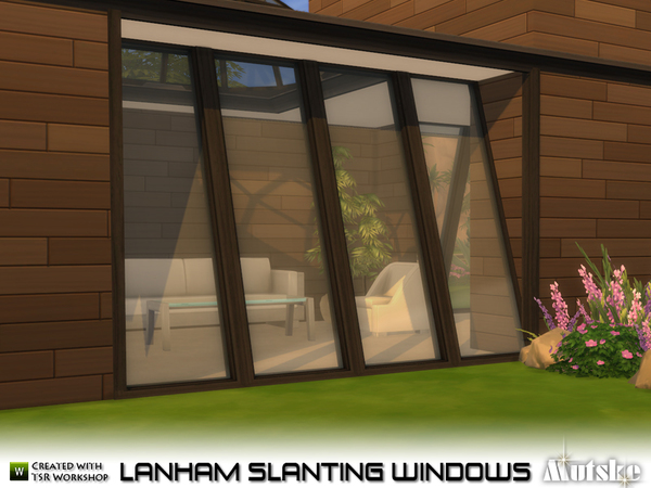 Lanham Slanting Windows by mutske