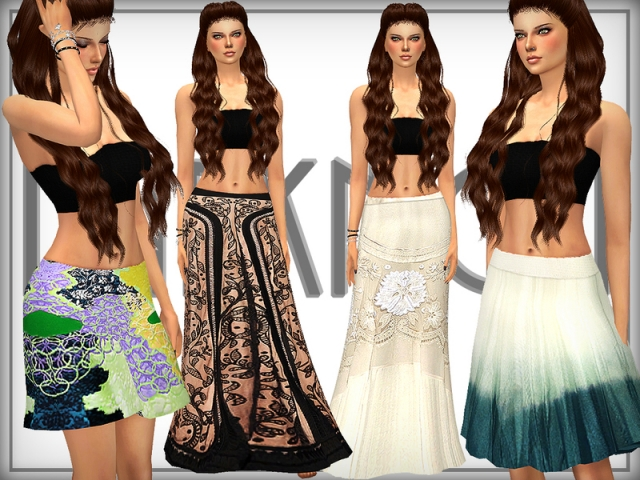 SET 16 - Skirt Set by DarkNighTt