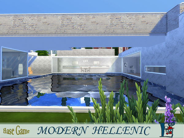 Modern Hellenic House by evi