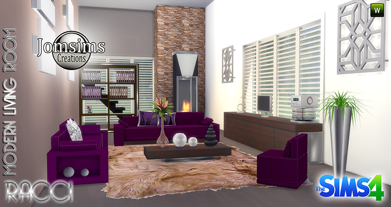 Racci Living Room Set by JomSims
