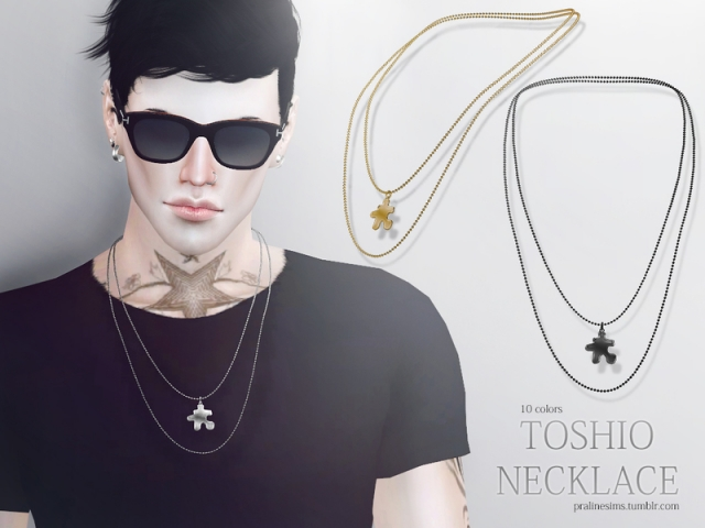 Toshio Necklace by Pralinesims