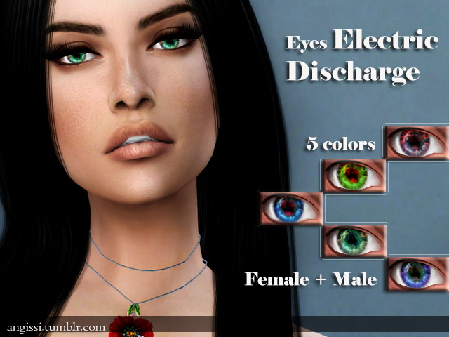 ELECTRIC DISCHARGE EYES by ANGISSI