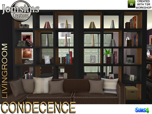 Condecence living room by jomsims