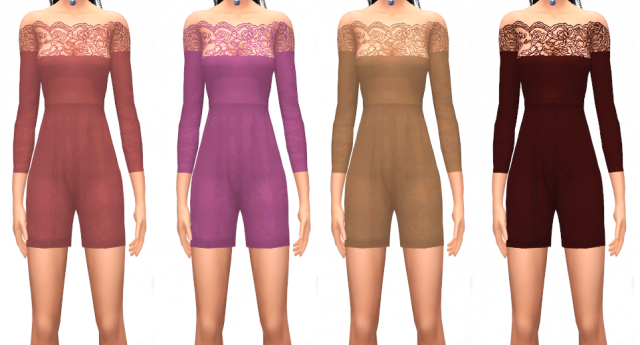 Vilachi playsuit by simswork