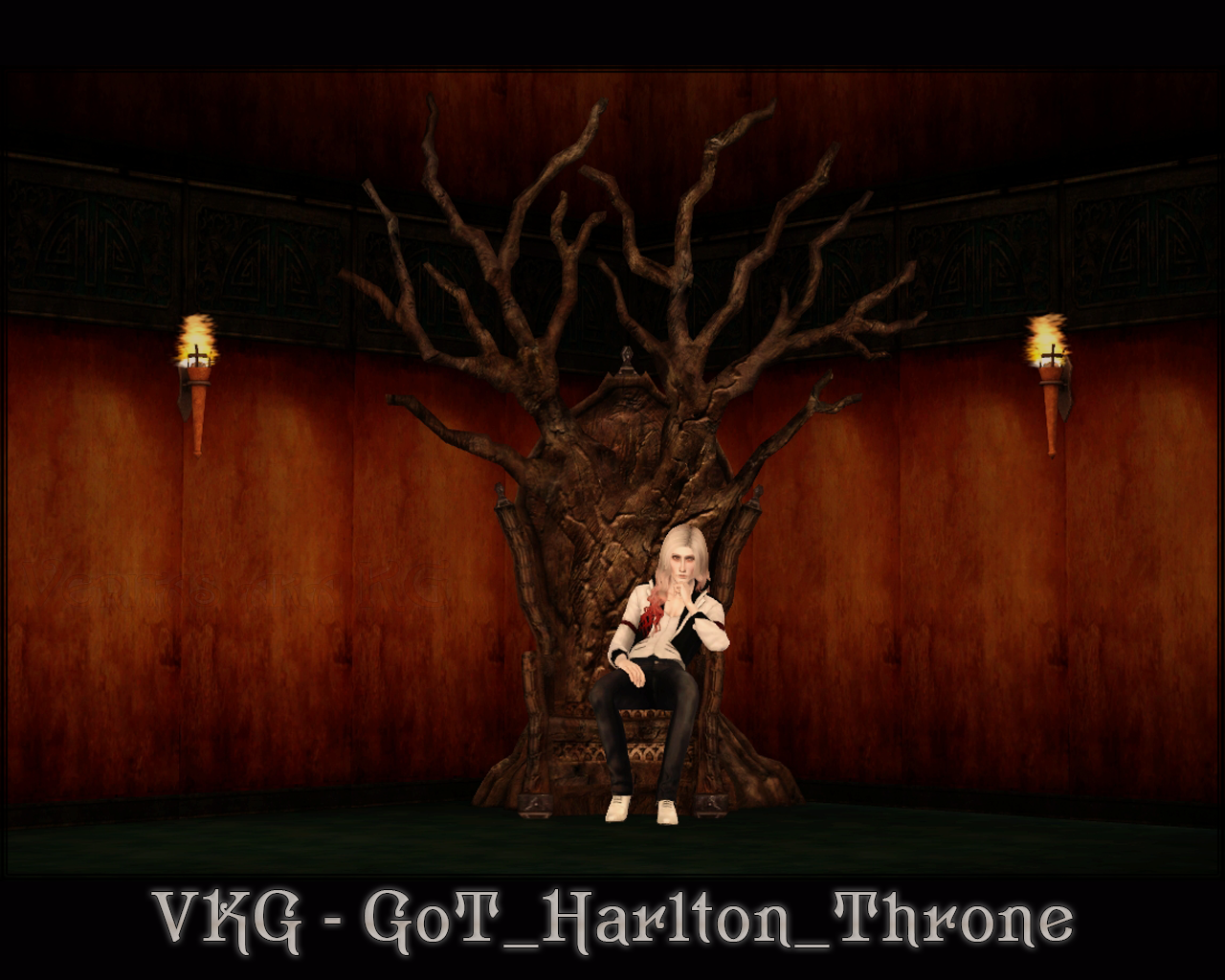 GoT Harlton Throne от vkg-simblr