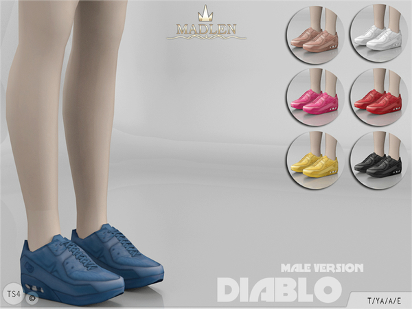 Madlen Diablo Sneakers (Male) by MJ95