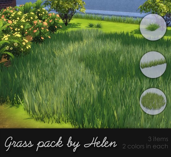 Grass Pack by Helen