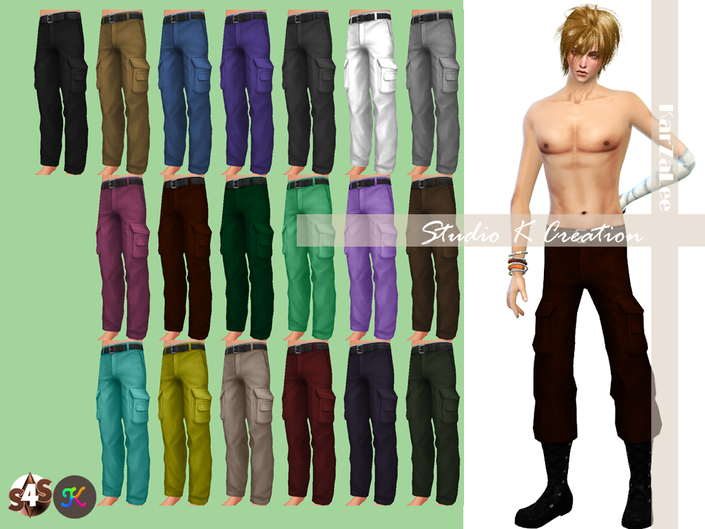 Soldier Pants Retexture by Karzalee