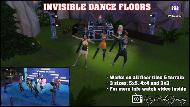 Invisible Dance Floors by Bakie